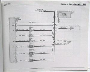 2013 Ford Fiesta Electrical Wiring Diagrams Manual