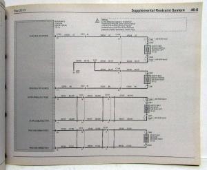 2013 Ford Flex Electrical Wiring Diagrams Manual