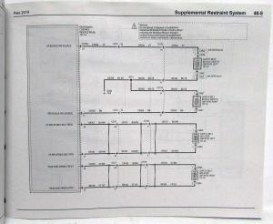 2014 Ford Flex Electrical Wiring Diagrams Manual