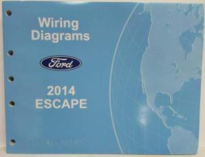 2014 Ford Escape Electrical Wiring Diagrams Manual