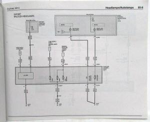 2014 Ford Explorer Electrical Wiring Diagrams Manual