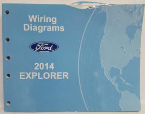 2014 Ford Explorer Electrical Wiring Diagrams Manual
