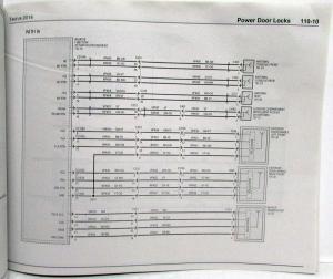 2014 Ford Taurus & Police Interceptor Electrical Wiring