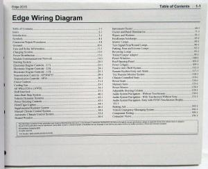 2015 Ford Edge Electrical Wiring Diagrams Manual