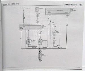 2015 Ford F650 750 Super Duty Trucks Electrical Wiring Diagrams Manual