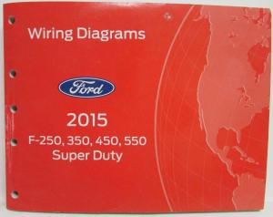 2015 Ford F250 350 450 550 Super Duty Pickup Electrical