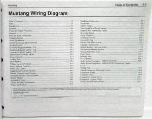 2015 Ford Mustang GT Electrical Wiring Diagrams Manual