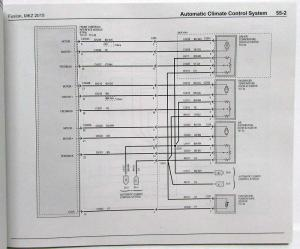 2015 Ford Fusion Lincoln MKZ Electrical Wiring Diagrams Manual