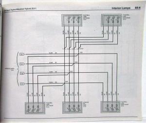 2011 Ford Escape & Mercury Mariner Hybrid Electrical