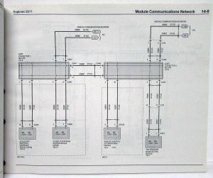 2011 Ford Explorer Electrical Wiring Diagrams Manual