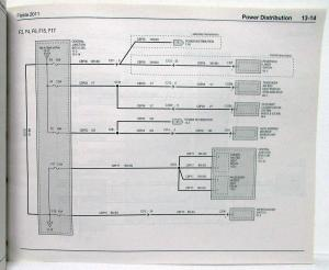2011 Ford Fiesta Electrical Wiring Diagrams Manual