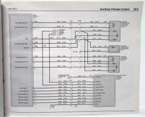 2011 Ford Flex Electrical Wiring Diagrams Manual
