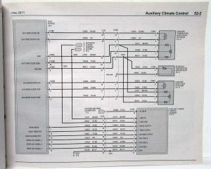 2011 Ford Flex Electrical Wiring Diagrams Manual