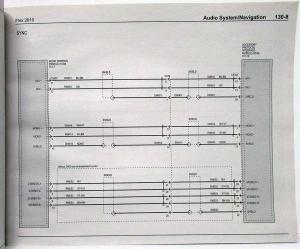 2010 Ford Flex Electrical Wiring Diagrams Manual