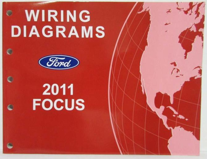 2011 ford focus electrical wiring diagrams manual