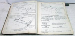 1949 1950 Pontiac Service Shop Manual Chieftain Silver