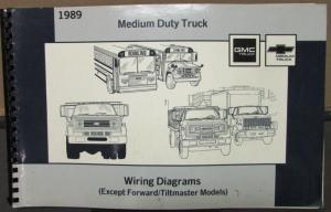 1989 GMC Electrical Wiring Diagram Service Manual Medium