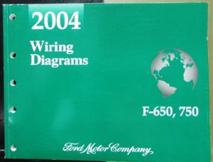 2004 Ford Dealer Electrical Wiring Diagram Service Manual