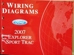 2007 Ford Dealer Electrical Wiring Diagram Service Manual