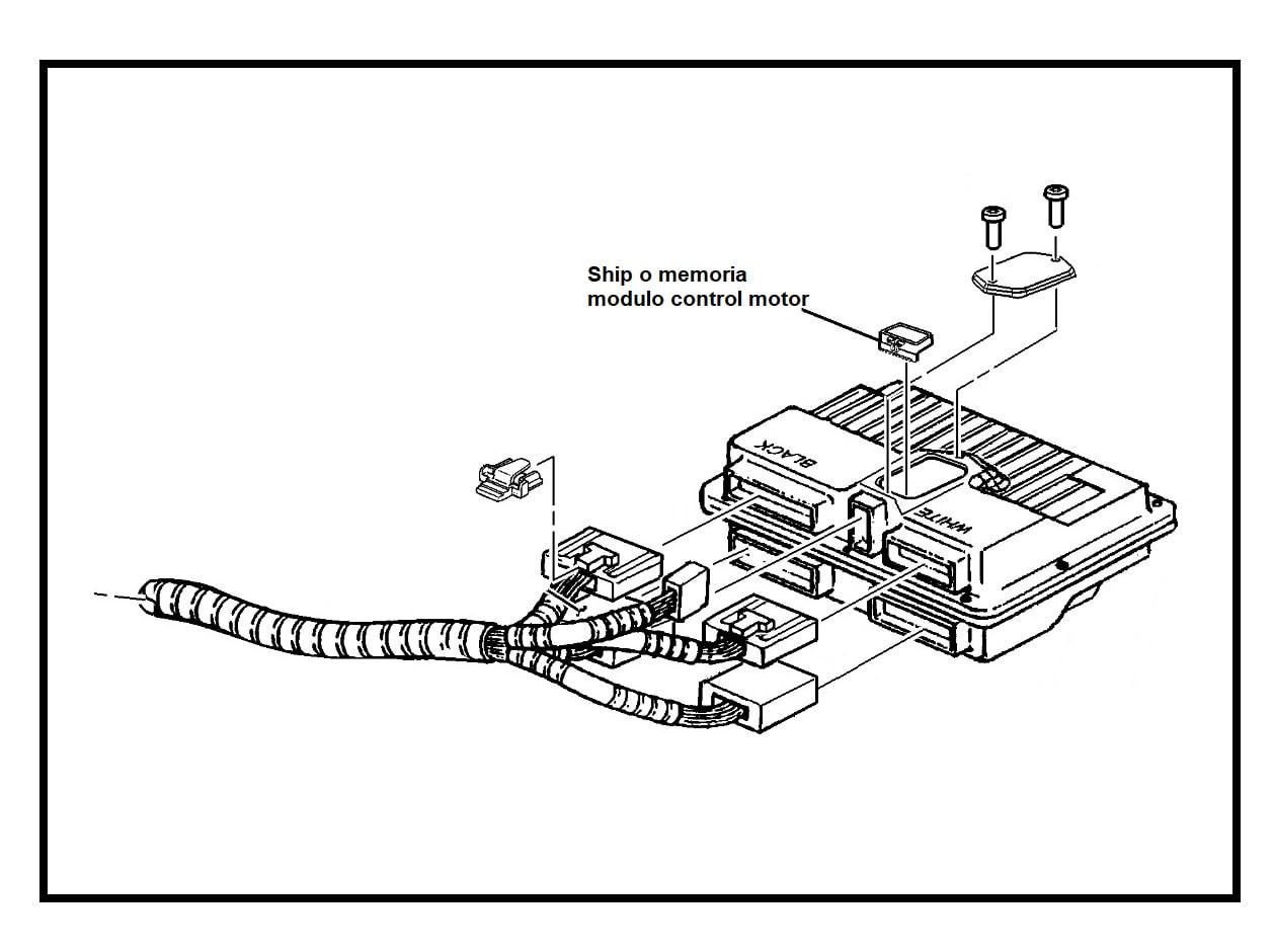 Ship Memoria Modulo Control Motor Computador Chevrolet Blazer