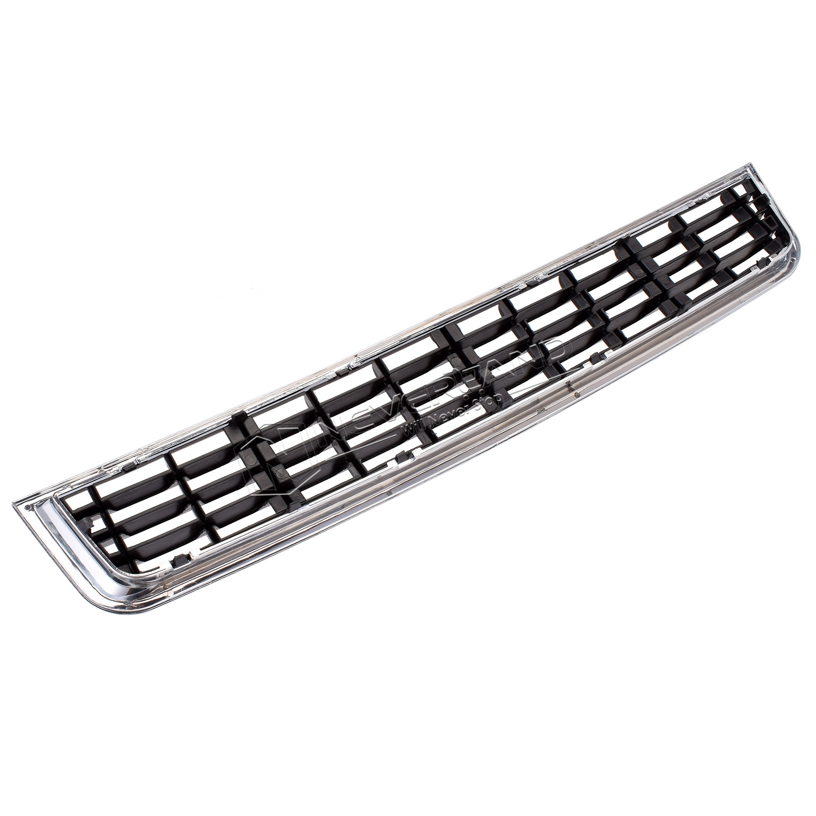 Front Bumper Kidney Grille Lower Center Mesh Chrome For