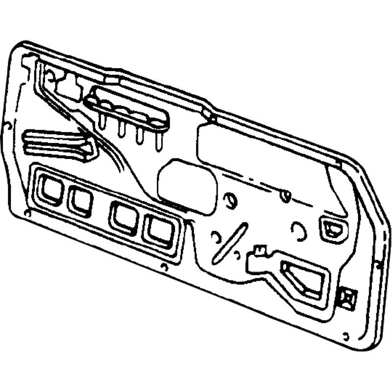1990 Chevy Truck Interior Door Panels