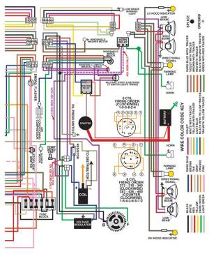 1962 All Makes All Models Parts | ML13010A | 1962 Dodge Dart 812 X 11 Color Wiring Diagram