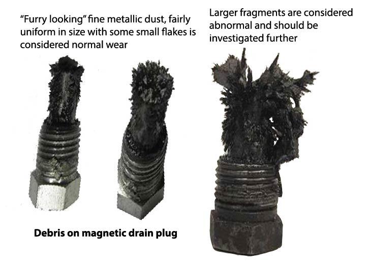 Metal debris on drain plug Evinrude 2012 2011 2010 2009 2008 E-TEC