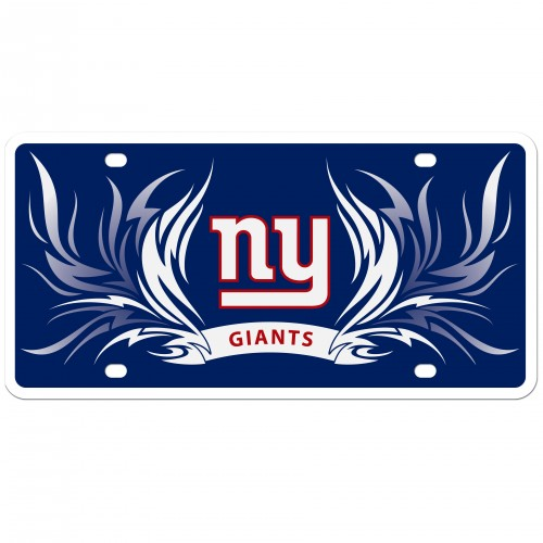 Personalized Giants Flame License Plate by Auto Plates