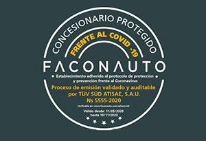 Faconauto crea 'Concesionario protegido frente al Covid'