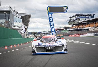 Pila de hidrógeno Michelin para uso en competición automovilística