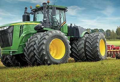 La elección de neumáticos marca la diferencia en la agricultura sostenible