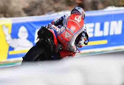 Michelin estrena nuevo neumático trasero para MotoGP