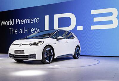 Bridgestone estrena neumáticos ligeros para un vehículo eléctrico de Volkswagen