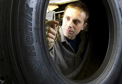 Diez millones de neumáticos renovados Michelin en la fabrica de Valladolid