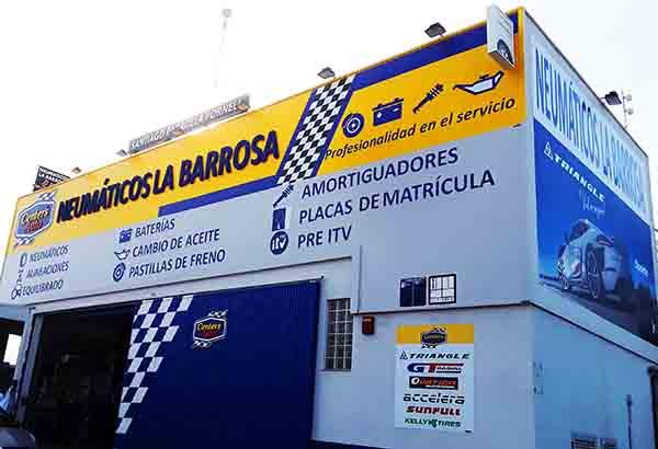 Reportaje del Punto de Venta Neumáticos La Barrosa