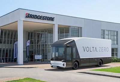 Volta Trucks llevará neumáticos Bridgestone para su  flota de prototipos