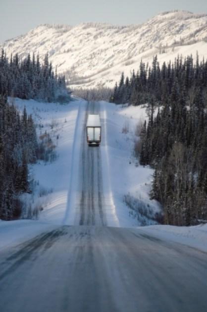 Flotas de camiones en invierno