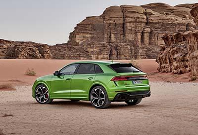 Neumáticos Hankook UHP de verano e invierno para el Audi RS Q8