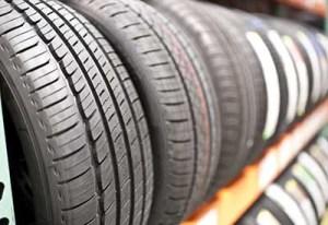 Neumático almacenado