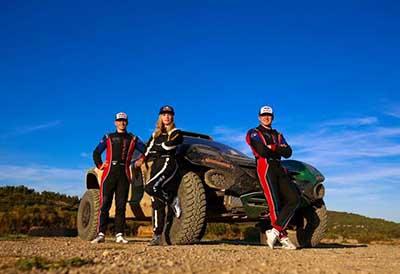 La piloto de pruebas de Continental se une a las carreras Extreme E