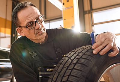 Sustitución neumáticos Continental