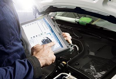 Los datos de reparación y mantenimiento son integrados por Bosch Esitronic