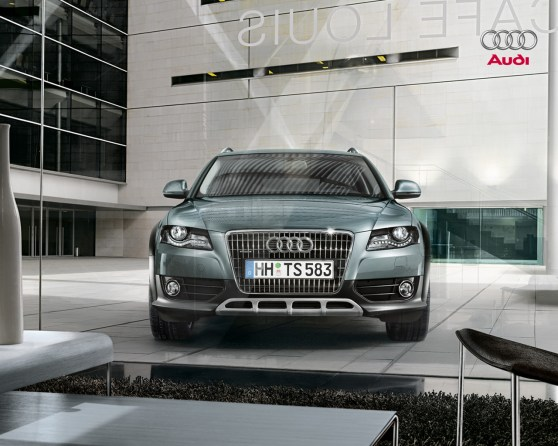 la nouvelle audi a4 allroad. Black Bedroom Furniture Sets. Home Design Ideas