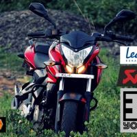 Best exhausts for Bajaj Pulsar RS 200 /AS 200/ NS 200 [Silencer /Muffler]