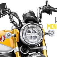 2019 Honda Monkey 125 (Std., Scrambler & Cafe) revealed