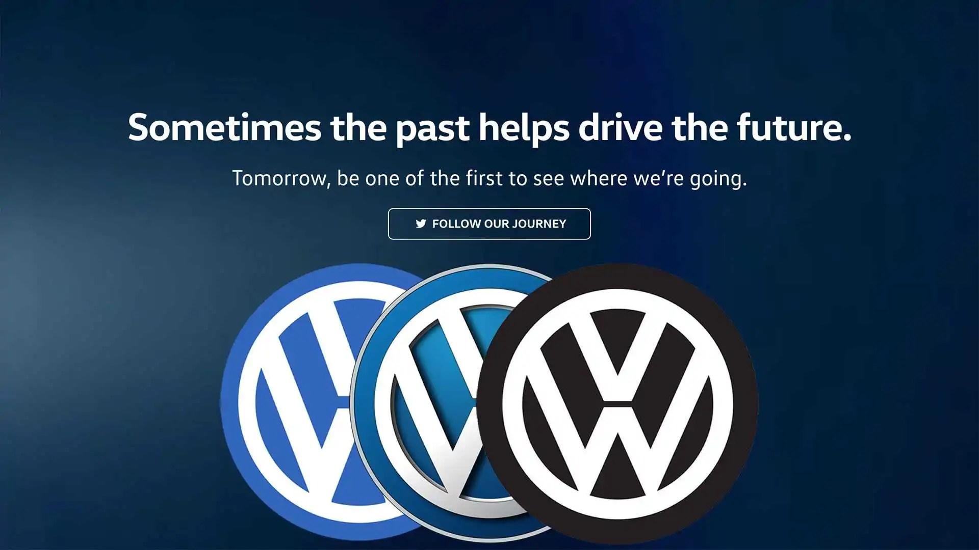 Volkswagen cambia logo al Salone di Francoforte 2019