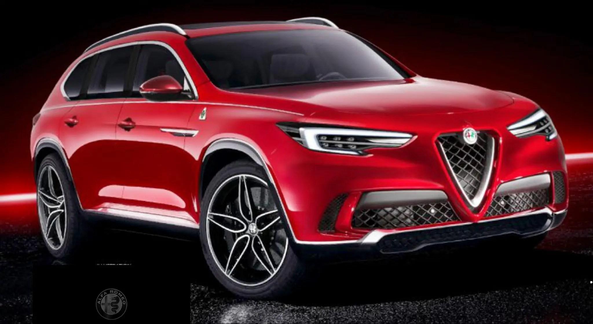 Nuova Alfa Romeo Castello 2020 il SUV a 7 posti