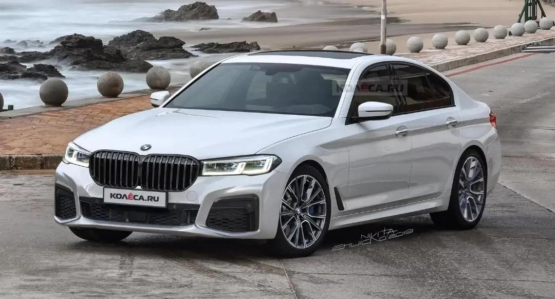 Nuova BMW Serie 5 2020 ecco il render definitivo