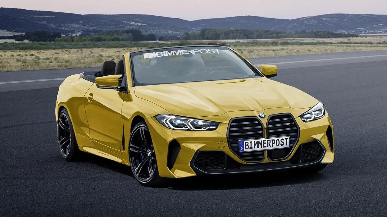 Nuova BMW M4 2020 il Render mostra un design estremo